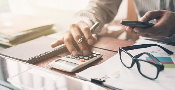 Controle centralizado na contabilidade.