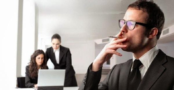 Proibição de fumar no local de trabalho