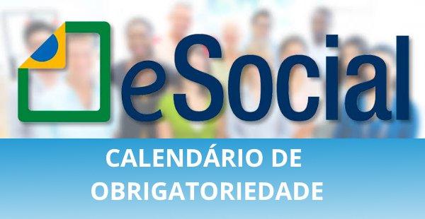 Alteração no cronograma e-SOCIAL: Publicada portaria com novas datas de obrigatoriedade