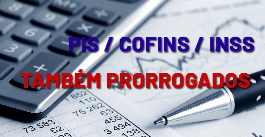 Receita adia pagamento de PIS, Pasep, Cofins e INSS