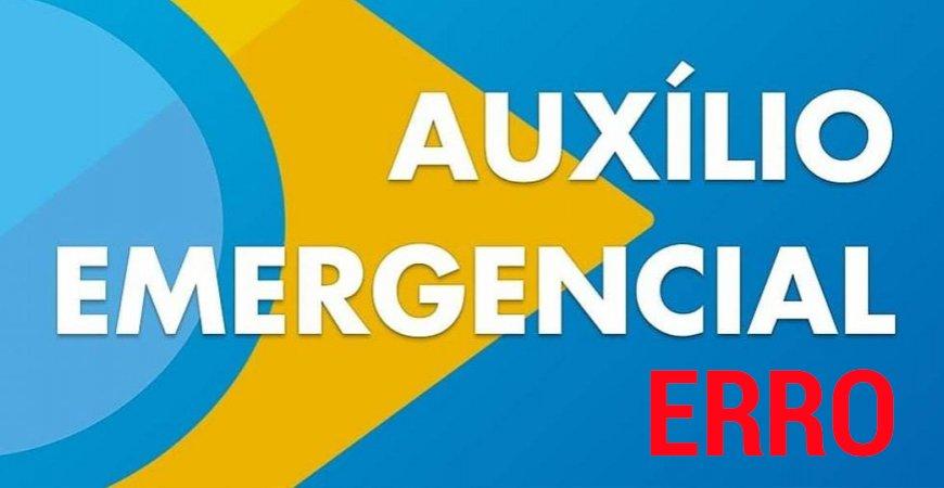 Auxílio emergencial: Usuários relatam erro de composição familiar