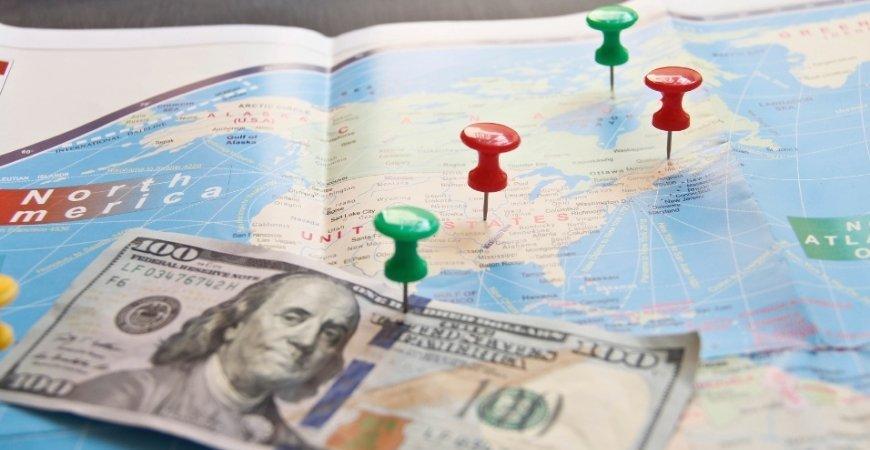 Prestação de serviço no exterior em alta