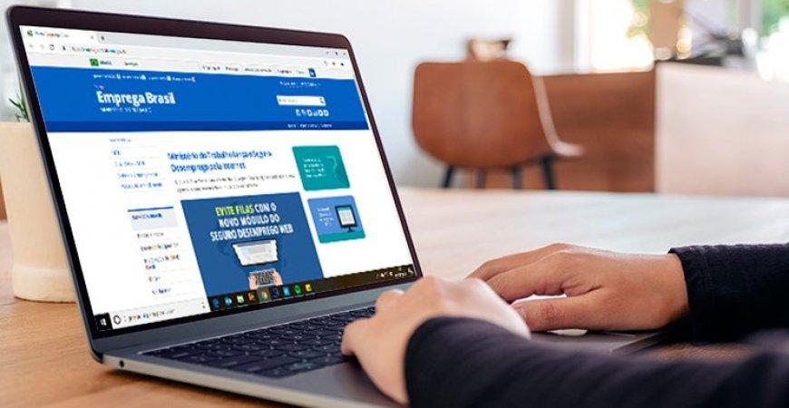 Solicitações do seguro-desemprego pela internet chegam a 90% do total