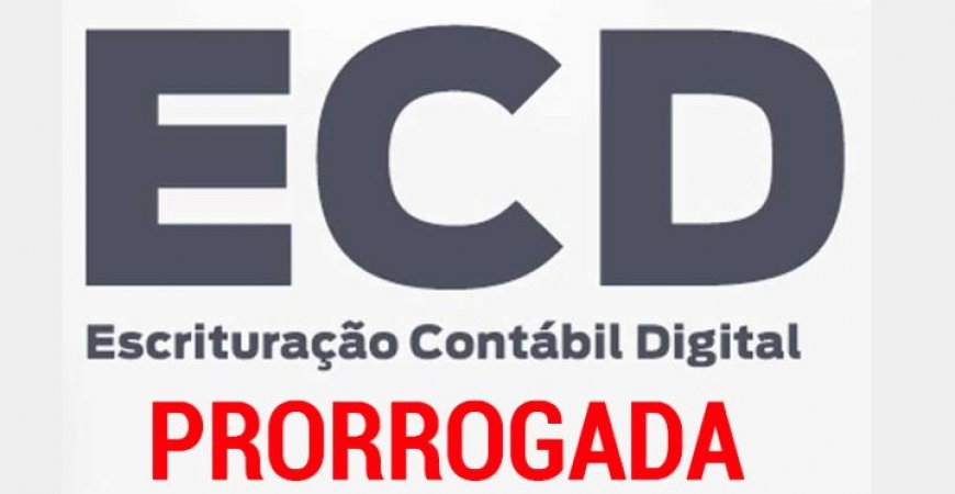 ECD é prorrogada para 31 de julho