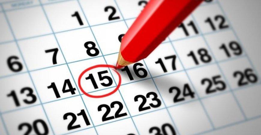 Confira tabela com prazos e obrigações do mês de junho