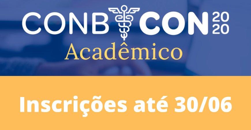 Conbcon Acadêmico: Artigos podem ser enviados até o dia 30