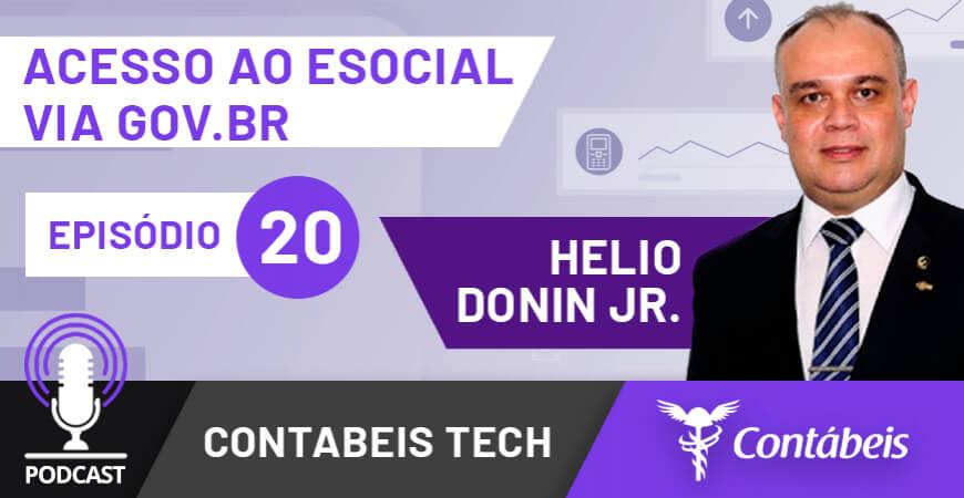 Podcast: Acesso ao eSocial via Gov.br começa a valer